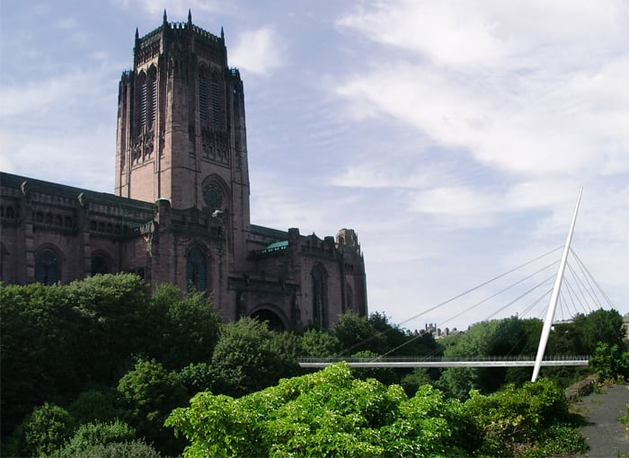 Liverpool Anglican Cathedral Bridge